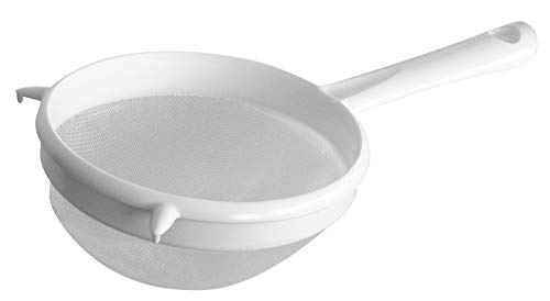 Fackelmann Colino con Rete in Plastica, Bianco, 17 cm
