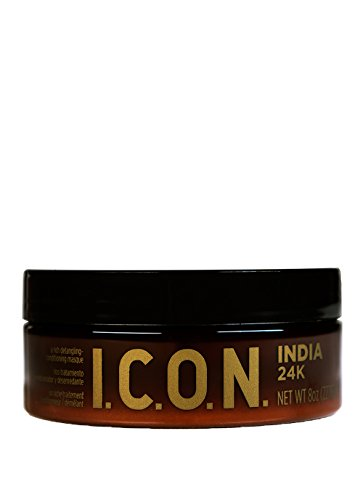 I.C.O.N. India 24K Rich Detangling Conditioning Mascarilla