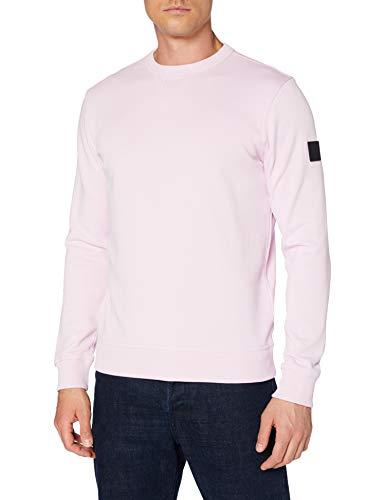 BOSS Mens Walkup 1 Sweatshirt, Dark Pink (652), XXL