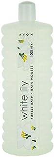 avon white lily bubbles bath 500 ml