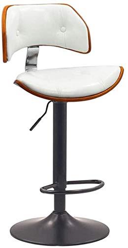 Computer Stoel Meubels Kruk Lift Barkruk Barkruk Stoel met Rug Draaibare Bureaustoelen Verstelbare Bureaustoelen Leer Wit
