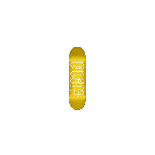 "Flip HKD Burst 8.0\""x31.5\"" Deck Skateboard, Erwachsene, Unisex, Gelb (gelb)"