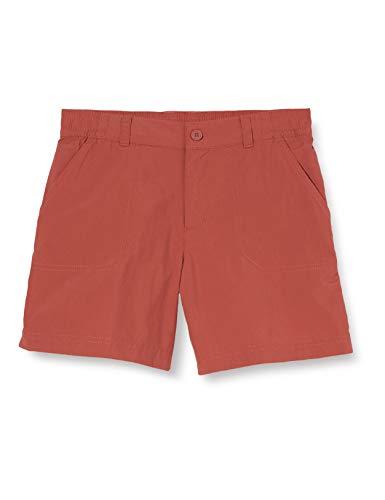 Columbia Silver RidgeIV Pantalón Corto De Senderismo, Unisex niños, Rojo (Dusty Crimson),...