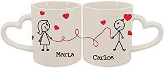 Pack de tazas personalizadas El hilo rojo del destino
