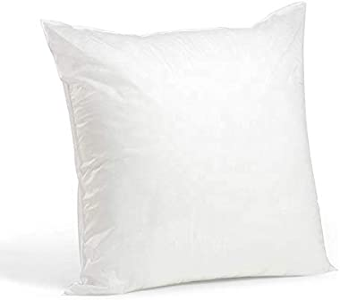 Throw Pillows 6 Pack - 20x20 Hypoallergenic Throw Pillow Inserts - Washable & Durable (20 x 20)