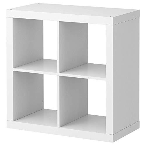 2 X IKEA KALLAX Rekken, Boekenkast, Wit, Perfect voor Manden OF Dozen