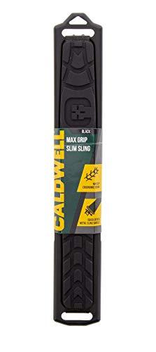 Caldwell Max Grip Slim Sling Black - Adjustable Rifle Slings for Shooting, Hunting and Range