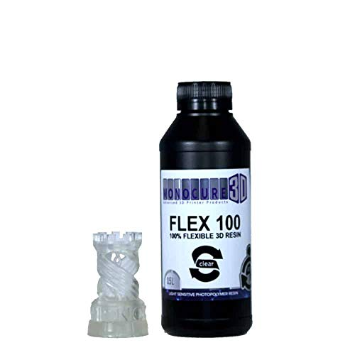 Monocure3D 3DFR-3781C-500B Rapid FLEX100 Resin, Kunstharz, 500ml, Klar