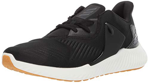 adidas Men's Alphabounce Rc 2 Running Shoe, Night Metallic/Black, 9 M US