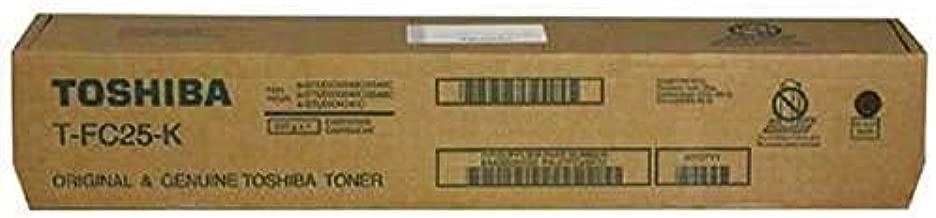 Toshiba T-FC25-K TFC25K E-Studio 2040c 2540c 3040c 3540c Toner Cartridge (Black) in Retail Packaging