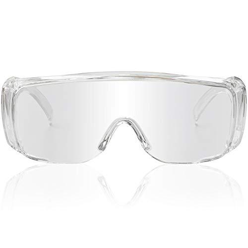 AntiFog Safety Glasses Anti Splash Wide Vision Eyewear Protective Safety Goggles