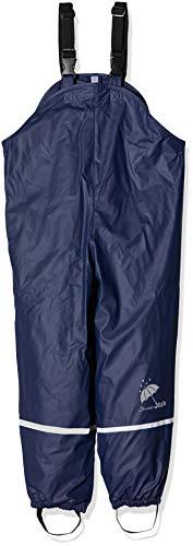 Sterntaler Jungen Regenträgerhose gefüttert Regenhose, Blau 300 (New Marine), 86