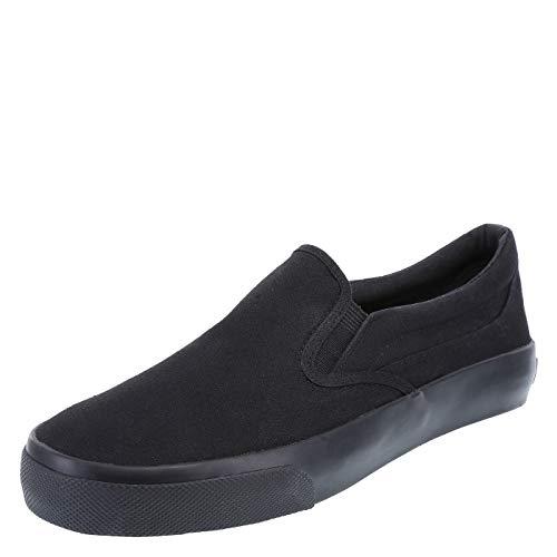 Airwalk Men's Stitch Slip On 7 Regular Black