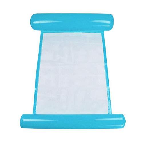 HaavPoois luchtbed water ligstoel opblaasbaar strand zwembad outdoor opvouwbaar draagbaar babywip vrije tijd producten (geel) Blauw