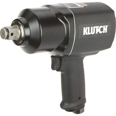 Klutch Air Impact Wrench - 3/4in. Drive, 7 CFM, 1,500 Ft.-Lbs. Torque