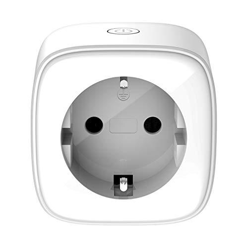 D-Link DSP-W118 - Mini enchufe Wi-Fi Smart Plug compatible con Alexa y Google Home, control de dispositivos en cualquier lugar mediante aplicación gratuita mydlink