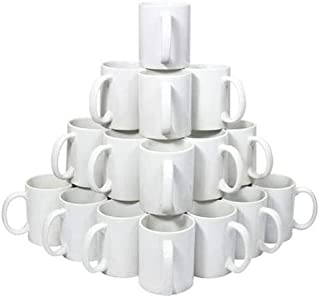 36 pcs CLASS A Mugs for Sublimation 11 OZ White for Heating Press Printing Machine to Photo Transfer.