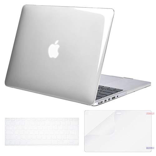 MOSISO Funda Dura Compatible con MacBook Pro 13 Retina A1425 / A1502...