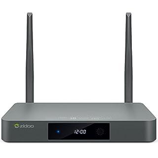 Zidoo® Mini-PC mit Android PNI X9S 4K / 3D 2 GB RAM 16 GB Bluetooth 4.0, integrierte Funktionen, HDMI-Eingang, OpenWrt, Schwartz (B01LWL88BM) | Amazon price tracker / tracking, Amazon price history charts, Amazon price watches, Amazon price drop alerts