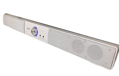 Find Discount iRiver IBS-400 USB Powered Computer PC Speaker Wired Sound Bar 2Ch (White)