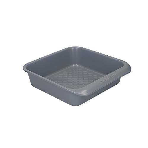 MasterClass Smart Ceramic Molde para el Horno Cuadrado de Acero al Carbono Antiadherente Apilable 23 cm