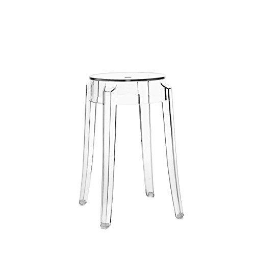 Kartell Charles Ghost Taburete diseñado por Philippe Starck