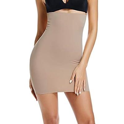 Joyshaper Half Slips for Under Dresses Women Plus Size Slimming Slip Underskirt Short Adjustable Waist Slip by Joyshaper