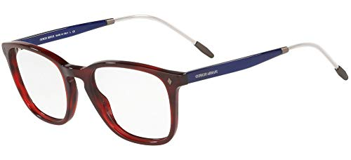 Armani GIORGIO 0AR7171 Monturas de gafas, Striped Red, 51 para Hombre