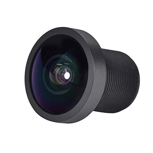 Mugast Actiecamera, 170 graden groothoeklens, professioneel cameraaccessoire voor GoPro 3 2 1, zwart