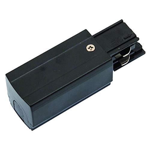 Powergear Rail d'alimentation 3 phases à gauche Blanc/noir Noir