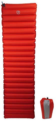 JR Gear Isomatte für Camping & Outdoor - 183x51x8,9cm, 650g, kompakt, warm und bequem - Wärmewert R5 durch Kunstfaserfüllung - Matte schützt effektiv gegen Kälte von unten
