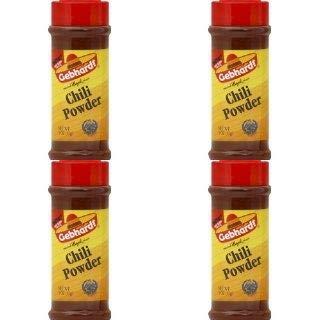 Amazon Com Gebhardt Chili Powder 3oz 85g Grocery Gourmet Food