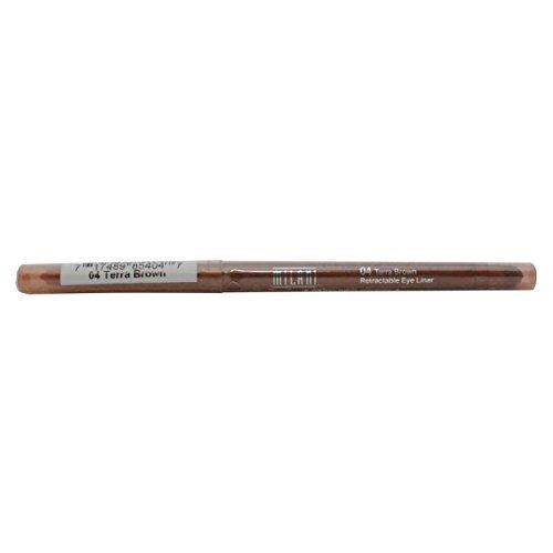 Milani Easy Liner For Eyes Glitter Retractable Eyeliner #04 Terra Brown