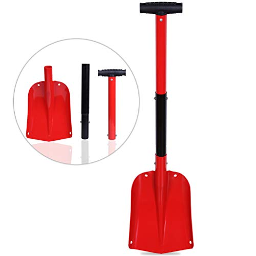 Sale!! CARTMAN Portable Aluminium Sport Utility Shovel, Snow Shovel