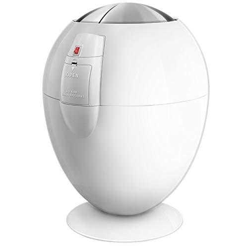 XCXC Bote De Basura, 6L Creativa Inducción Inteligente Sencilla Papelera Sala De...