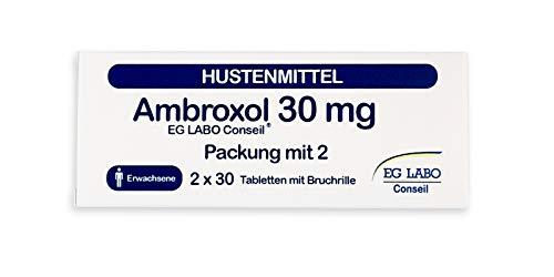 AMBROXOL-Tabletten Hustenmittel, Halsschmerzen und Nervenschmerzen mit 30 mg Ambroxolhydrochlorid