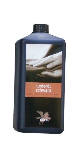 Bense u. Eicke Lederöl, 500 ml für alle Glattleder schwarz, Sattelzeug, Motorrad und Arbeitskleidung, Leather Oil