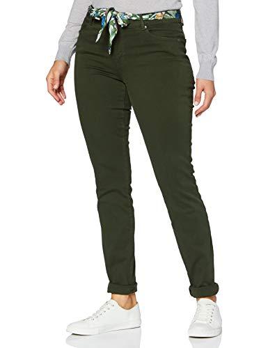 BRAX Damen Style Shakira Jeans, Dark Olive, 44
