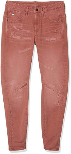 G-STAR RAW Damen Arc 3D Low Waist Boyfriend Restored Jeans, Rosa (dk Tea Rose B482-A827), 27W / 32L