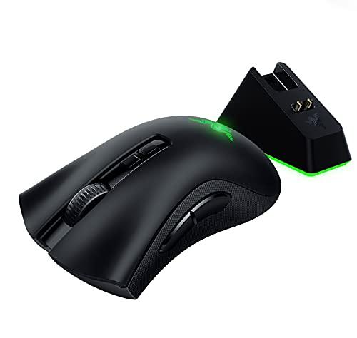 Razer DeathAdder v2 Pro Gaming Mouse + Free Mouse Charging Dock Chroma Gaming Mouse Bundle