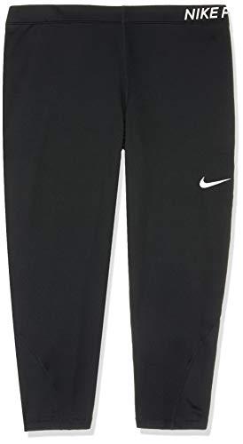 Nike Damen Hose Pro, Black/White, 2X, AA9684-010