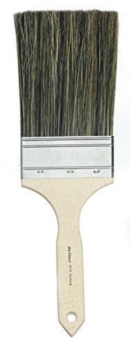 da Vinci Varnish & Priming Series 2491 Flogger Brush, Wild Boar Bristle with Plainwood Handle, Size 100 (2491-100)