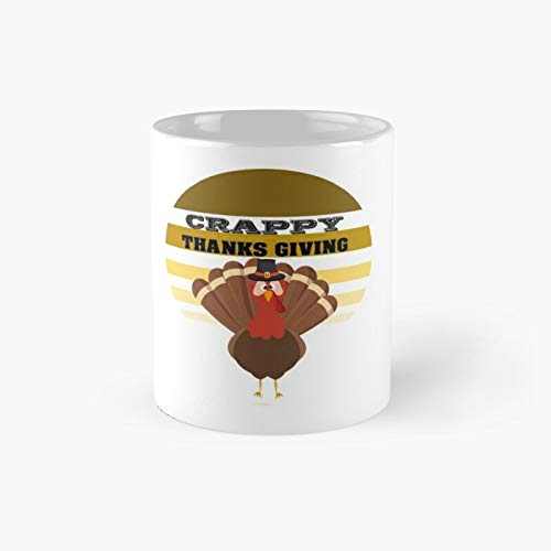 Funny Thanksgiving Mom Gift Crappy Design Social Distancing For Wife Mom Essential T-shirt Classic Mug