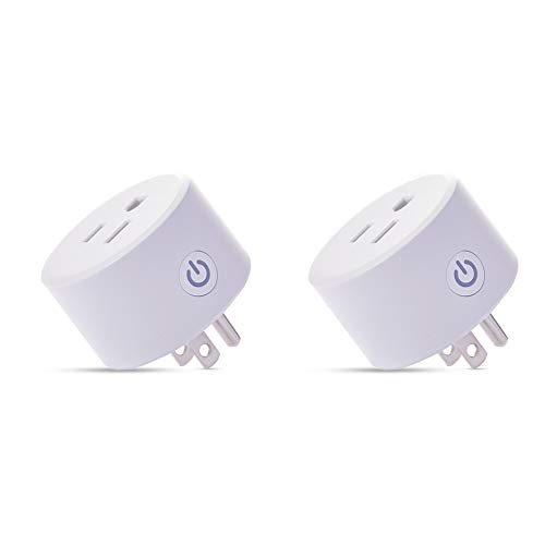 Zigbee Smart Plug is Compatible with Alexa, Echo Plus, SmartThings Hub, (Hub Required), Voice Pairing Smart Switch to remotely Control Your Home appliances from Anywhere in Alexa Devices