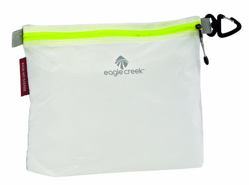 Eagle Creek Ultra-Light packing solution Pack-It Specter Sac Medium for Suitcases, white/strobe Sacca impermeabile, 24 cm, 3 liters, Bianco (White/Strobe)