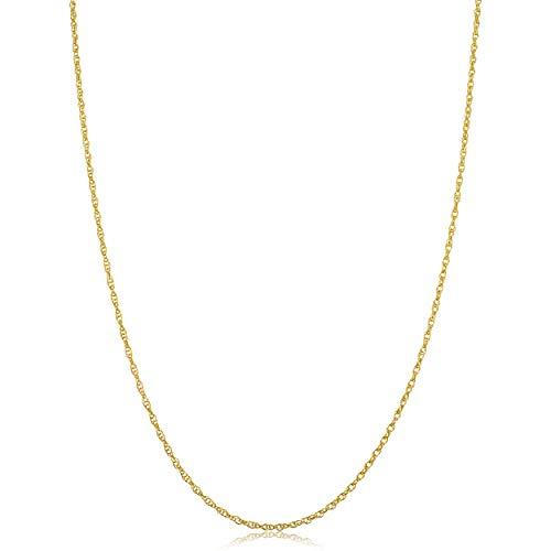 Kooljewelry Solid 14k Yellow Gol...