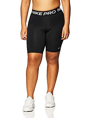 Nike Damen Pro 365 Shorts, Black/White, XS