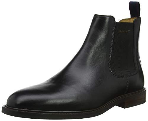 GANT Footwear Herren Ricardo Chelsea Boots, Schwarz (Black G00), 43 EU