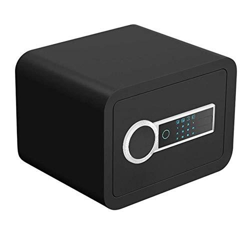 LZRZBH Sicherster Safe, kleine elektronisches Passwort Key Storage Cabinet 2 Schichten 30 Fingerabdruck -für ID, A4 Papierdokumente, Laptop Computer, Schmuck