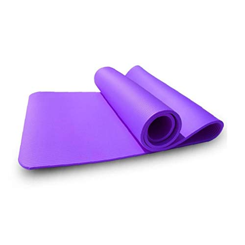 Aiyrchin Yoga Mat 1PC 8mm Stretching Entrenamiento Alfombra Antideslizante respetuosa del Medio Ambiente para el hogar Aptitud de la Gimnasia